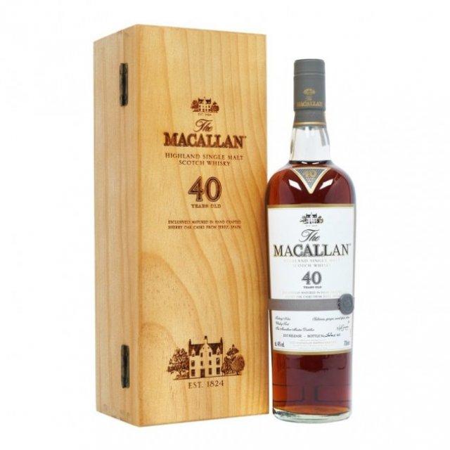 macallan sherry oak whiskey bottles