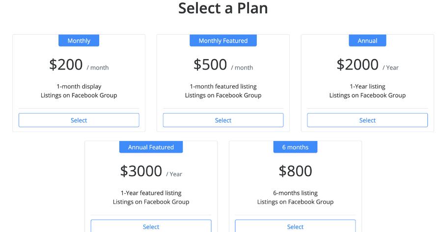 choose a plan